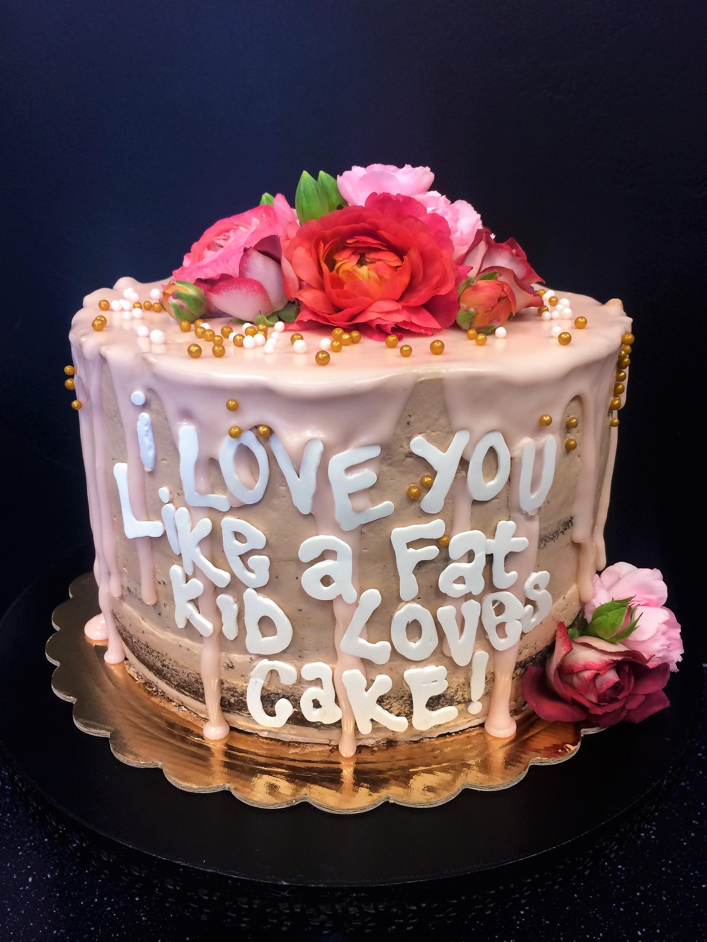 """8"""" anniversary cake"""