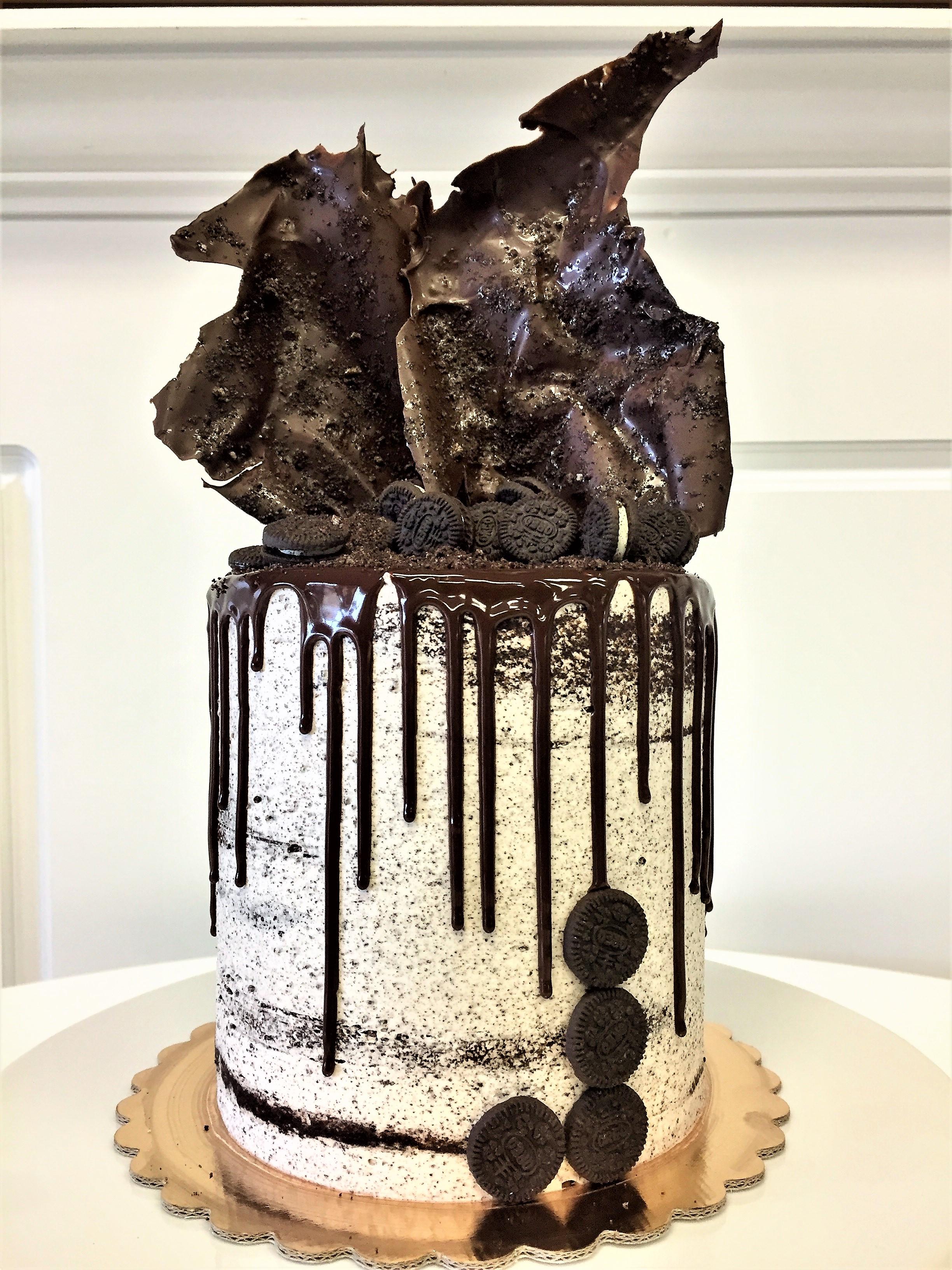 6'' oreo cake