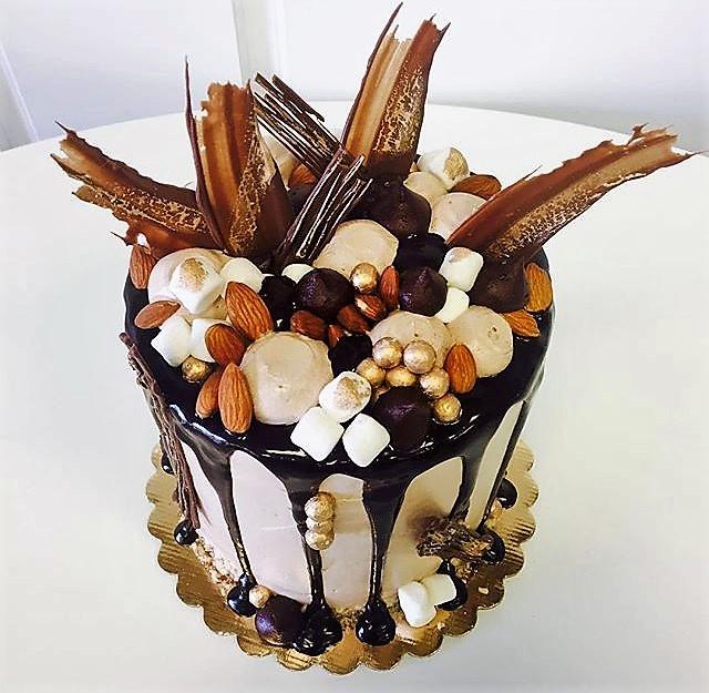 6'' gluten free chocolate cake