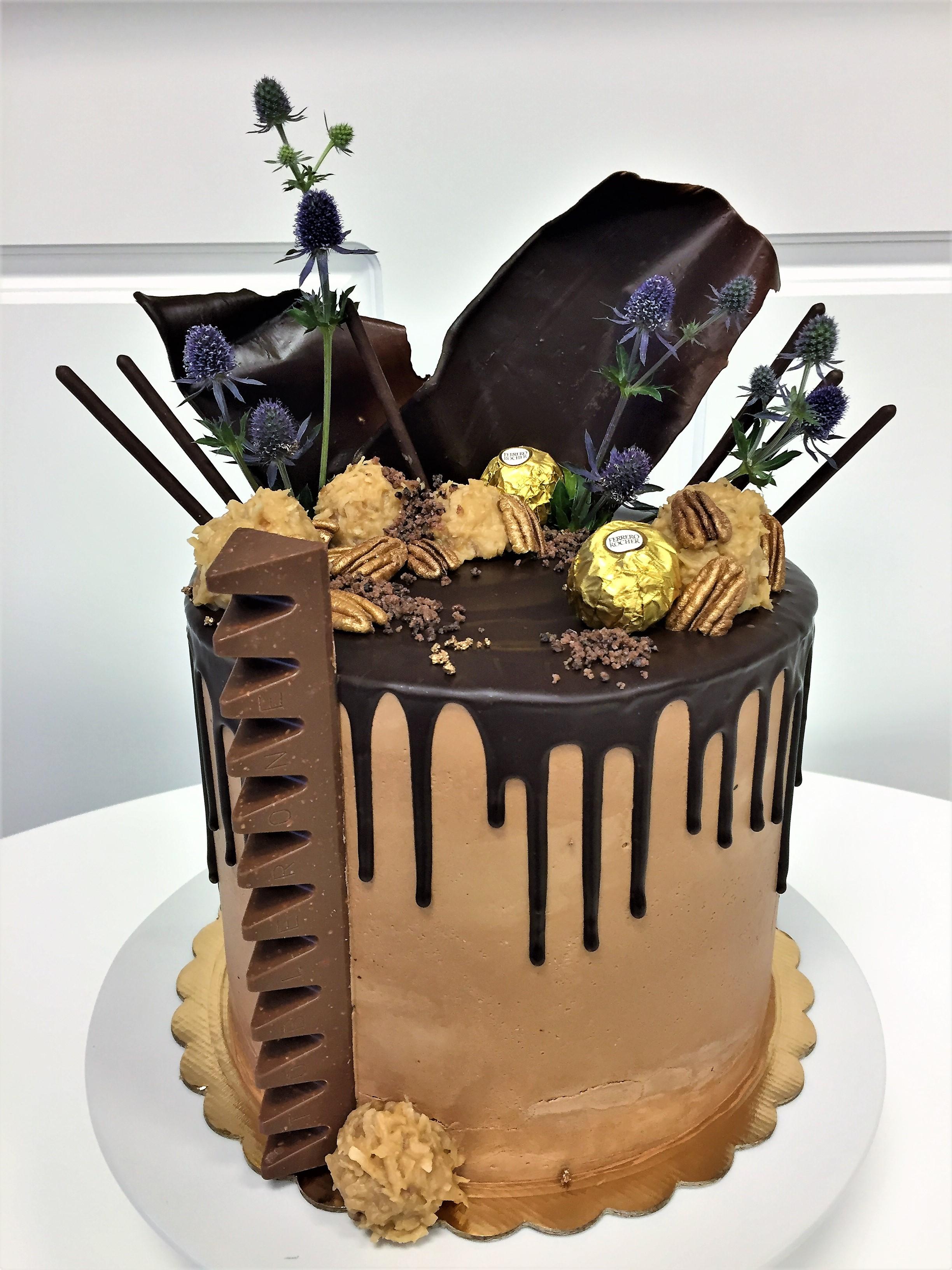 8'' chocolate cake