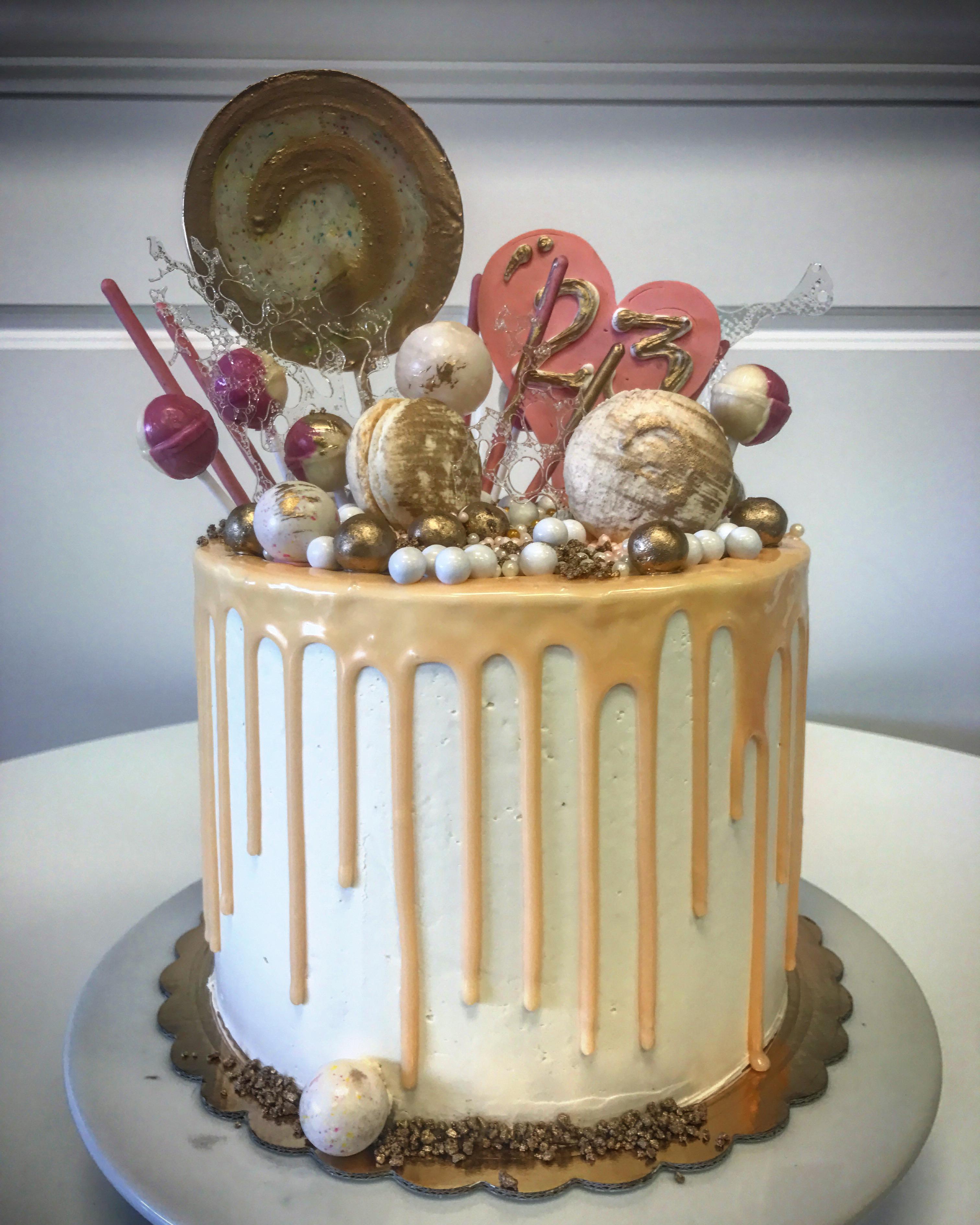 8'' birthday cake